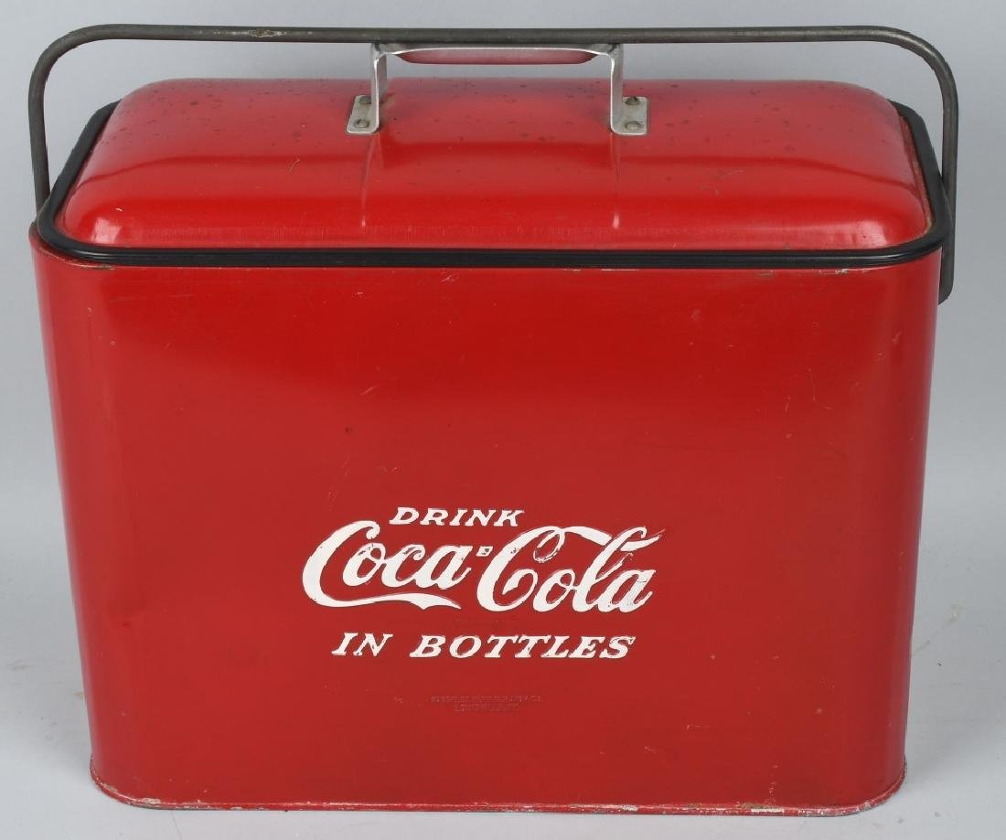 """COCA COLA """"HOLE IN ONE CLUB"""" COOLER - 2"""