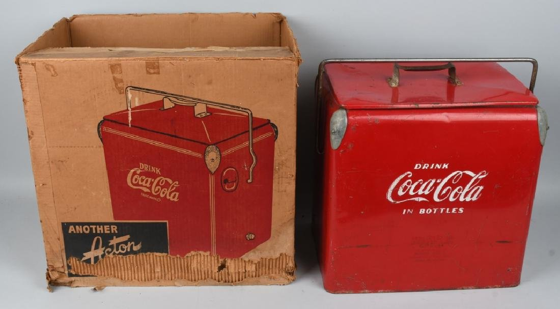 ACTON COCA COLA COOLER w/ BOX