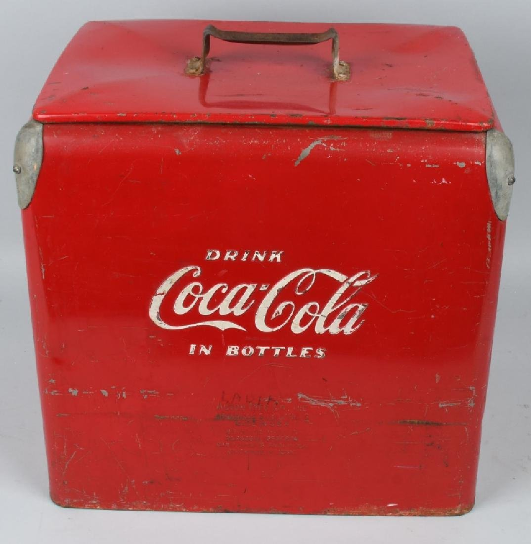 ACTON COCA COLA COOLER w/ BOX - 3