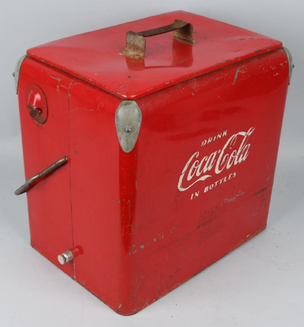ACTON COCA COLA COOLER w/ BOX - 4