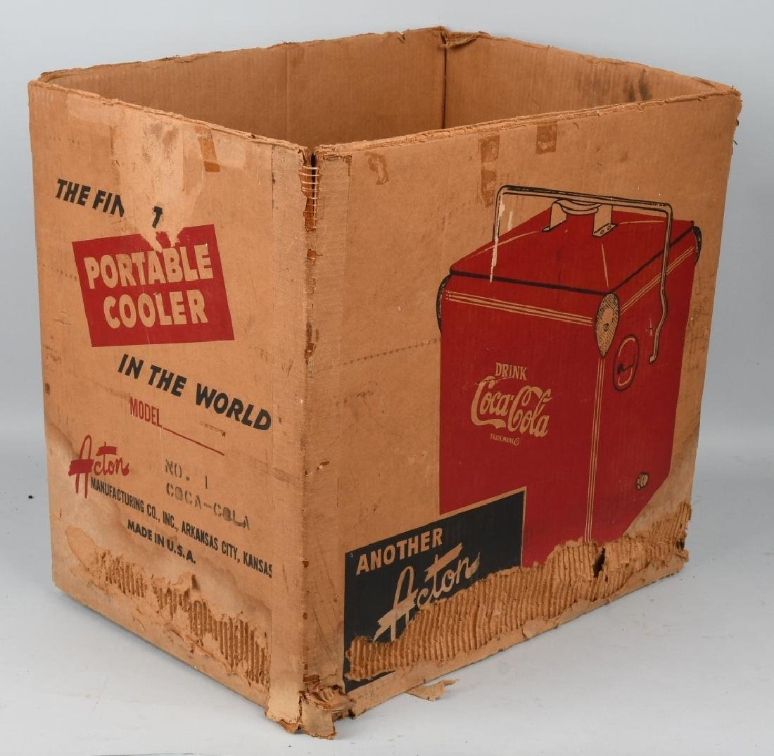 ACTON COCA COLA COOLER w/ BOX - 6
