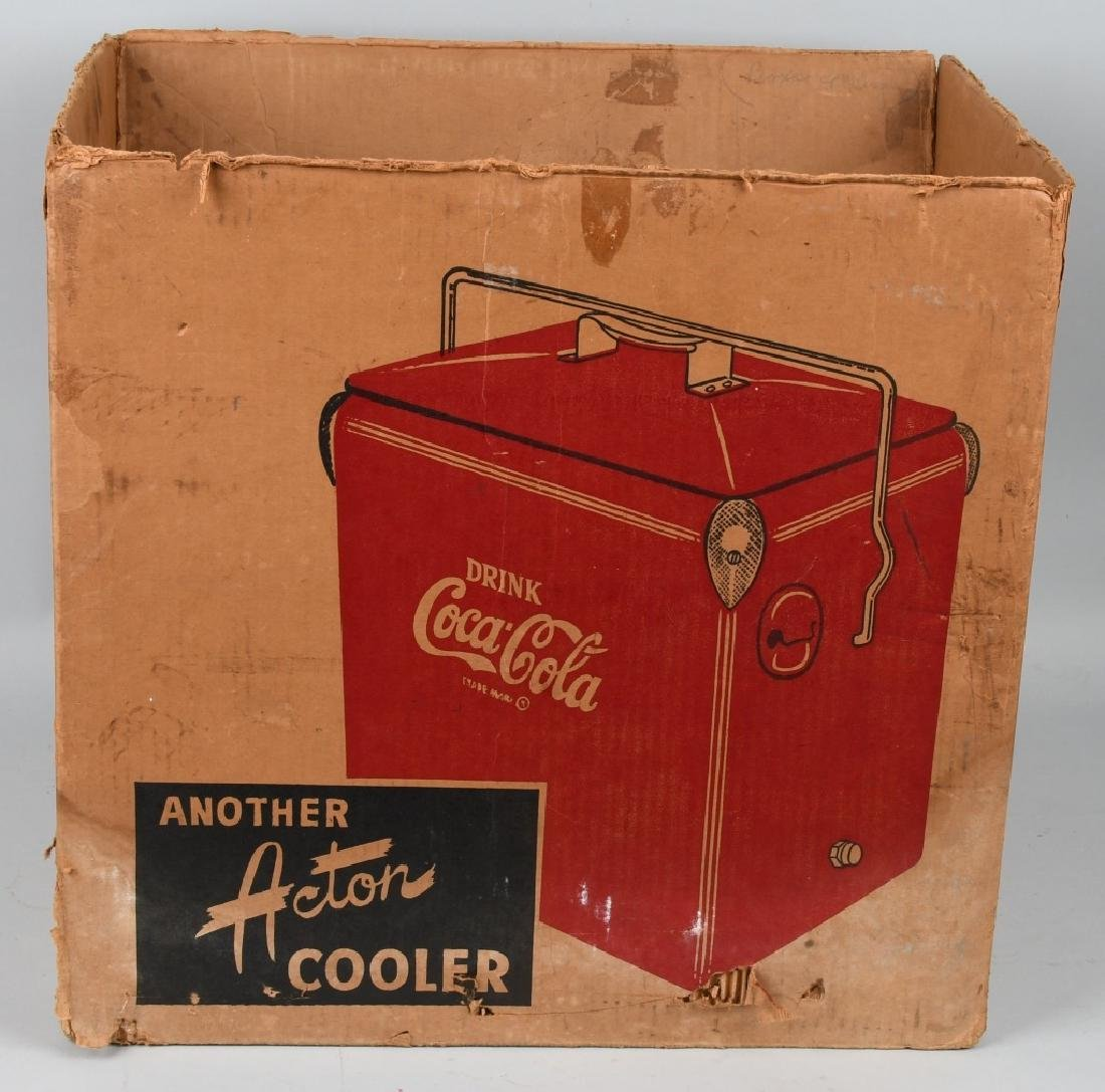 ACTON COCA COLA COOLER w/ BOX - 7