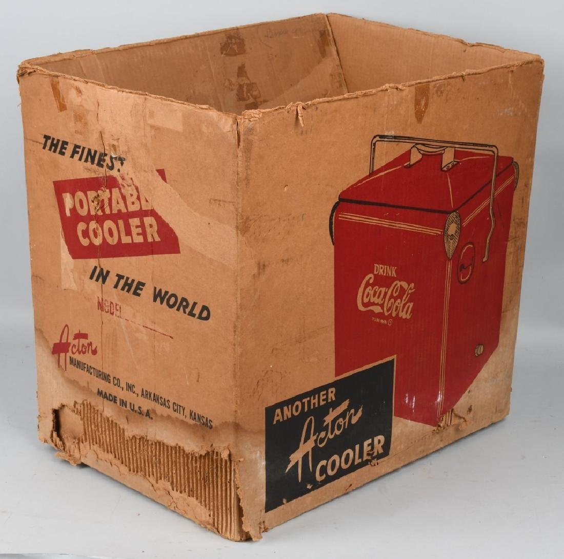 ACTON COCA COLA COOLER w/ BOX - 8