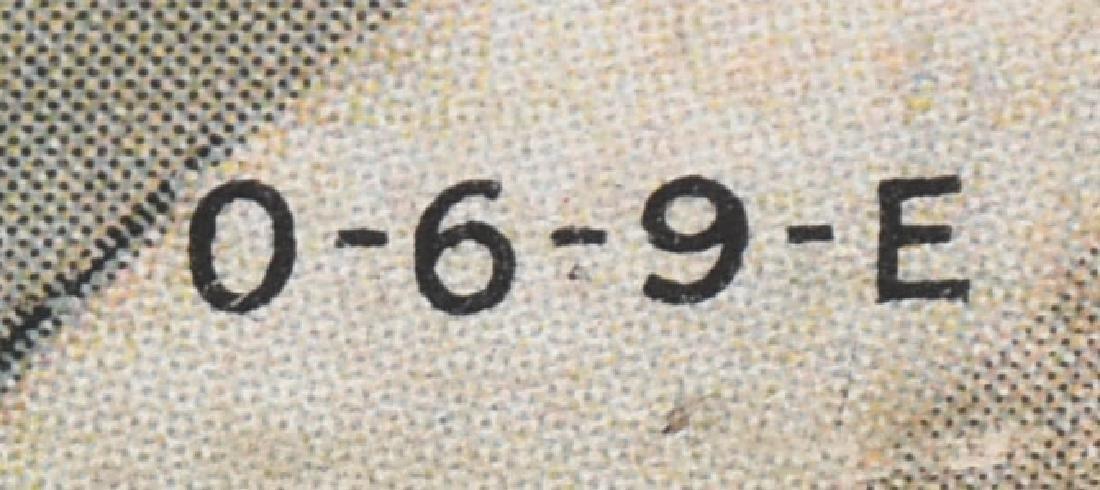 "1930s ORANGE CRUSH ""THE BRIBE"" DIE CUT SIGN - 4"