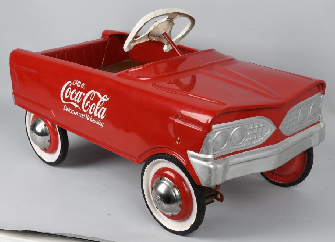MURRY COCA COLA PEDAL CAR - 3