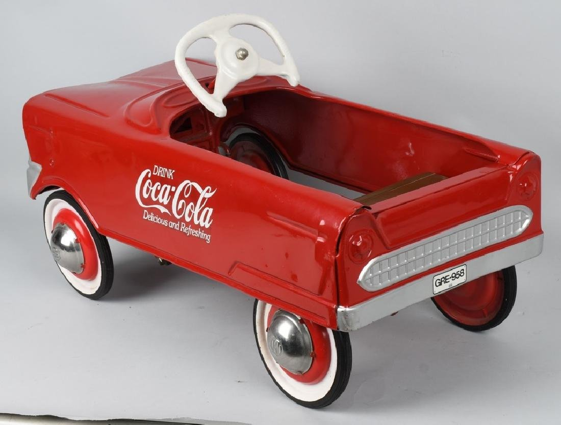 MURRY COCA COLA PEDAL CAR - 4