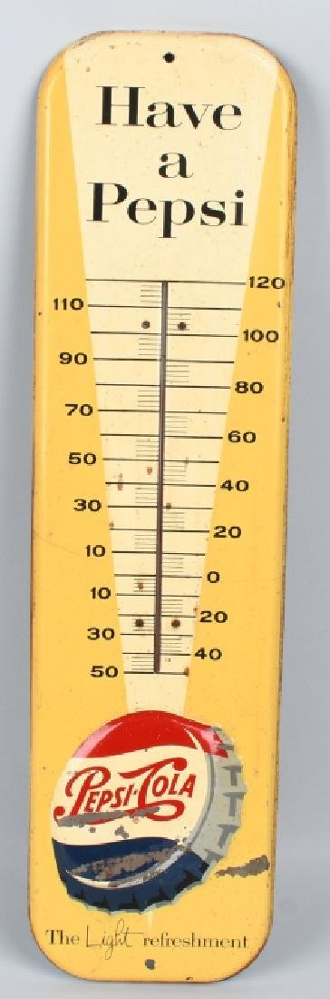 HAVE A PEPSI TIN THERMOMETER