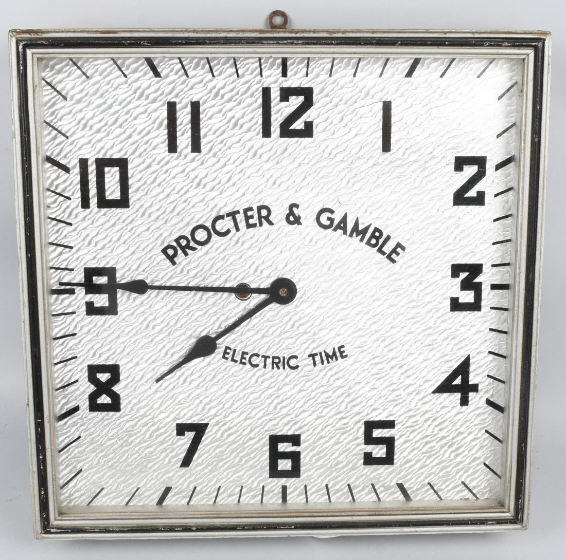 KODEL PROCTOR & GAMBEL ADVERTISING CLOCK