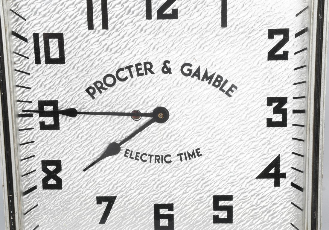 KODEL PROCTOR & GAMBEL ADVERTISING CLOCK - 2