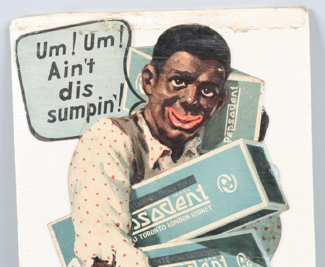 1930 PEPSODENT DIECUT AMOS & ANDY WINDOW DISPLAY - 2