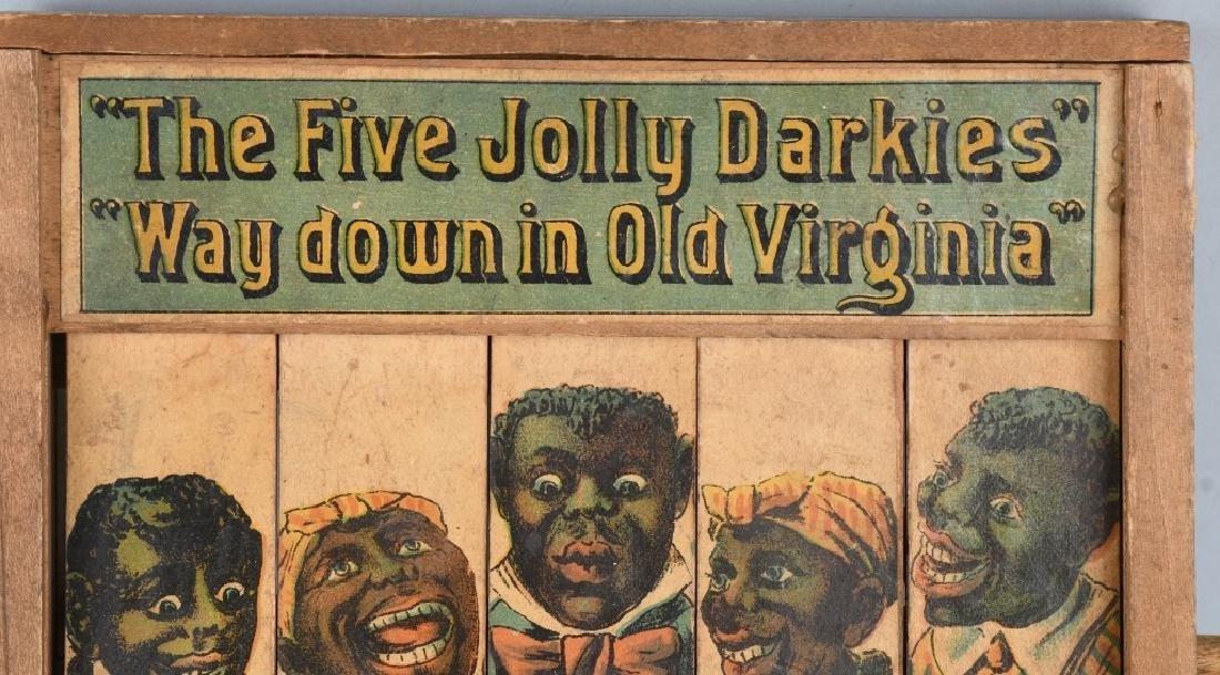 REED JOLLY DARKIES OLD PLANTATION WOOD TOY - 2