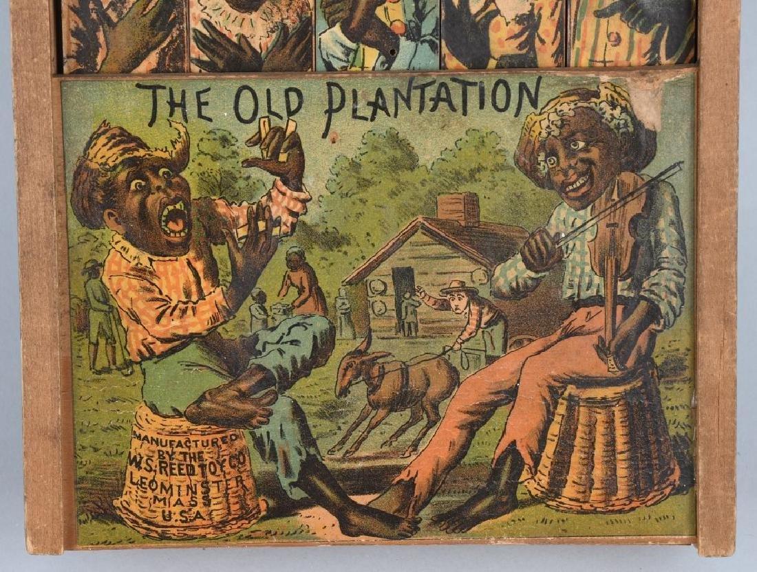 REED JOLLY DARKIES OLD PLANTATION WOOD TOY - 4