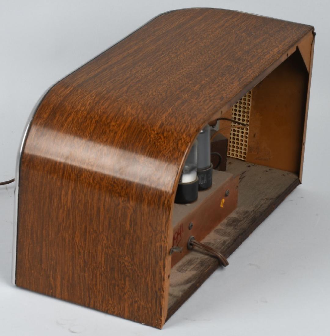 1940s TRUETONE ART DECO RADIO - 4