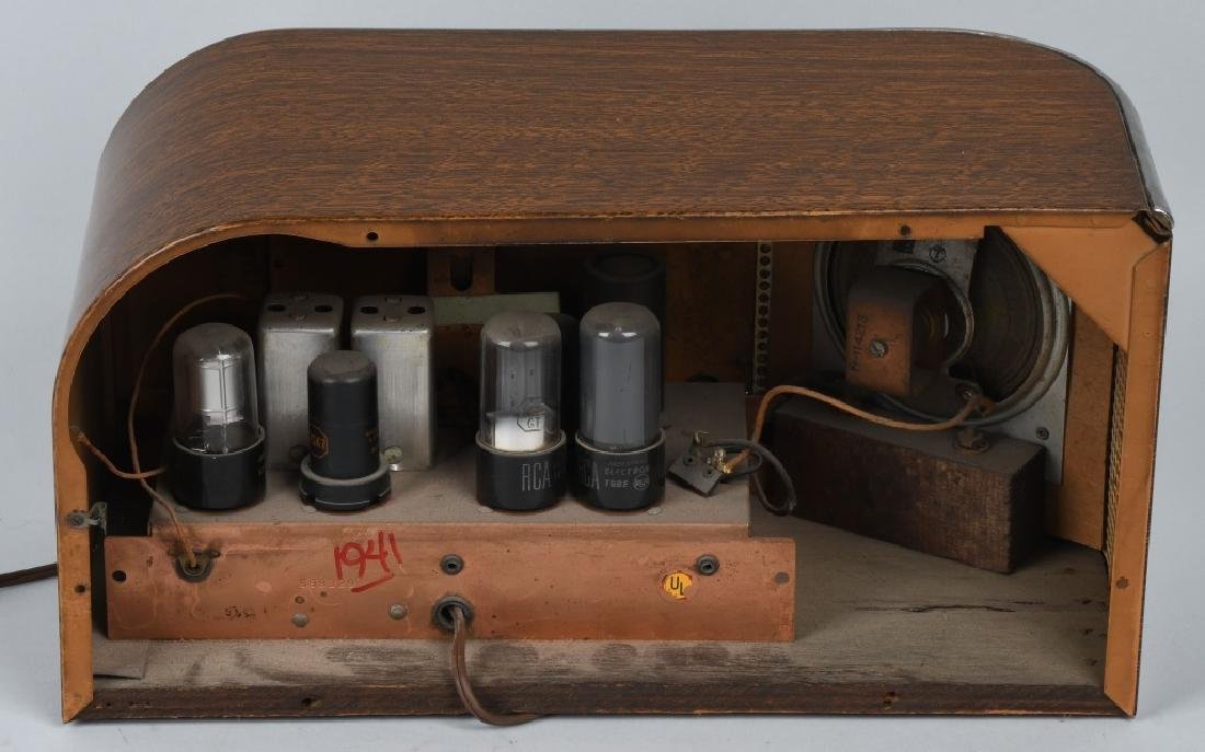 1940s TRUETONE ART DECO RADIO - 5