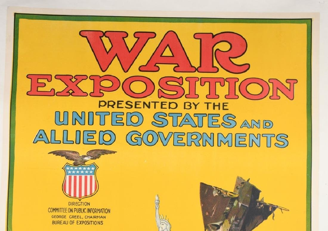 WWI WAR EXPOSTION POSTER By OTIS LITHO - 2