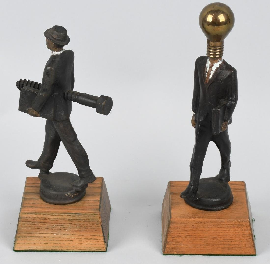 BUSINESS ANGST BRONZE SET BY MAXON