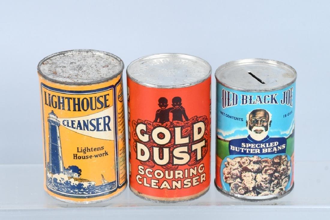 8- CANS OF VINATGE CLEANSER - 2