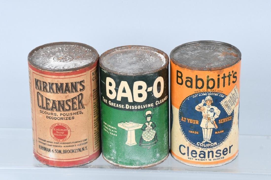 8- CANS OF VINATGE CLEANSER - 3