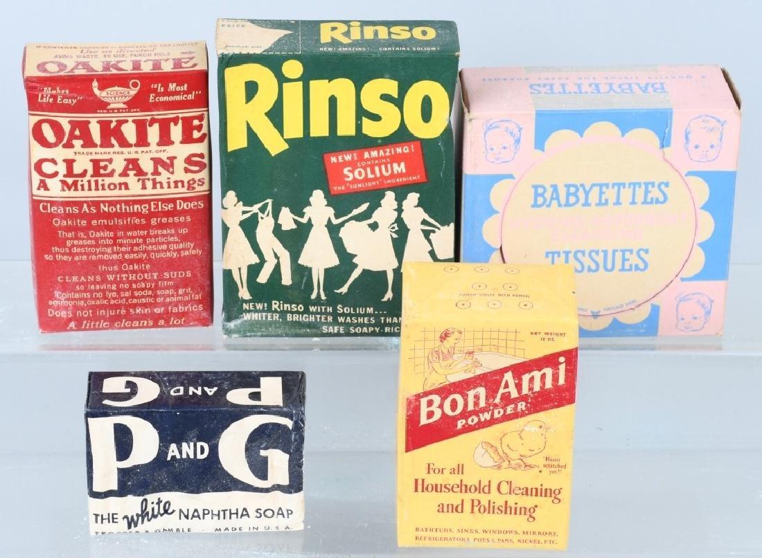 12- BOXES OF VVINTAGE SOAP - 4