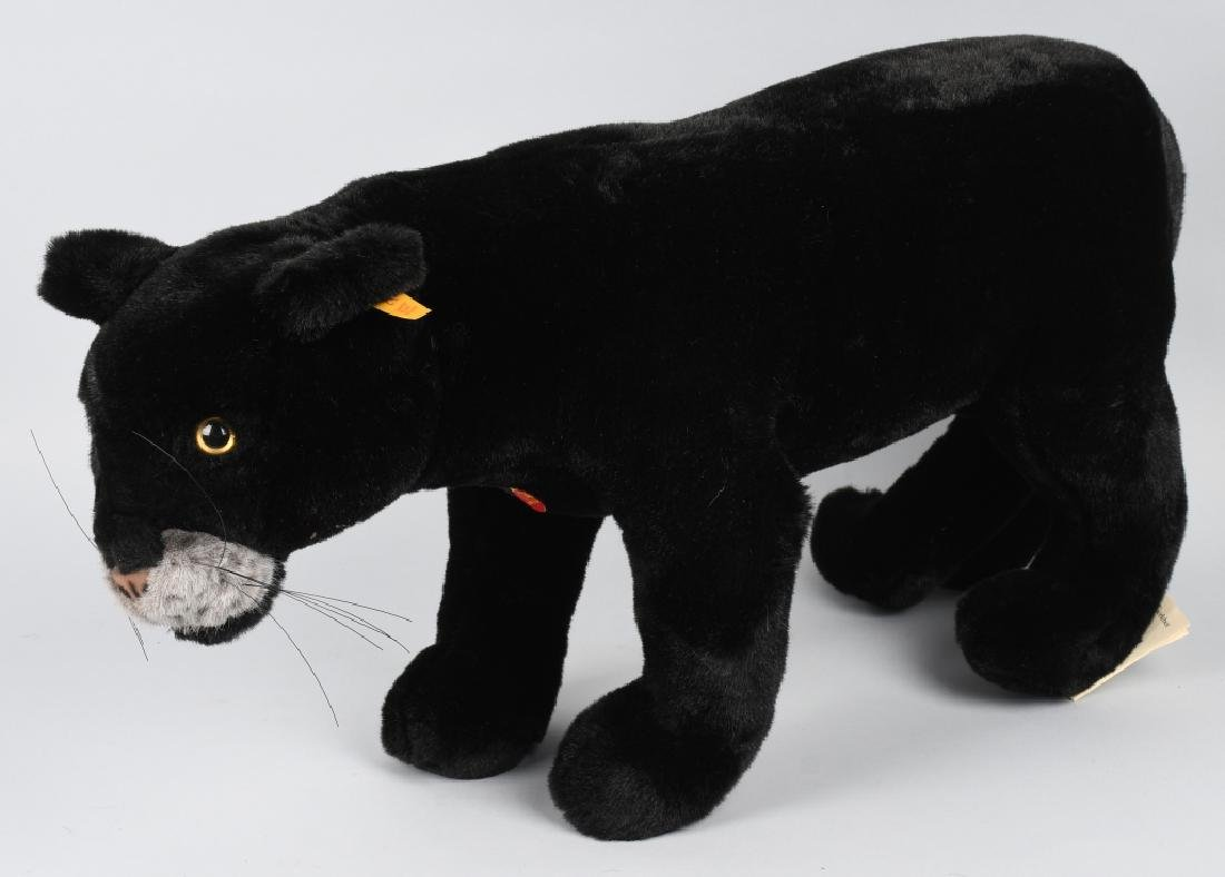 """25"""" STEIFF """"TAKY"""" STANDING PANTHER"""