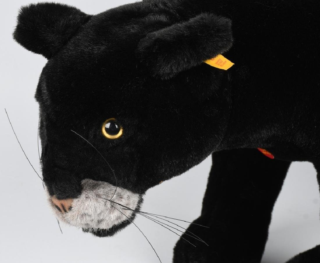 """25"""" STEIFF """"TAKY"""" STANDING PANTHER - 2"""