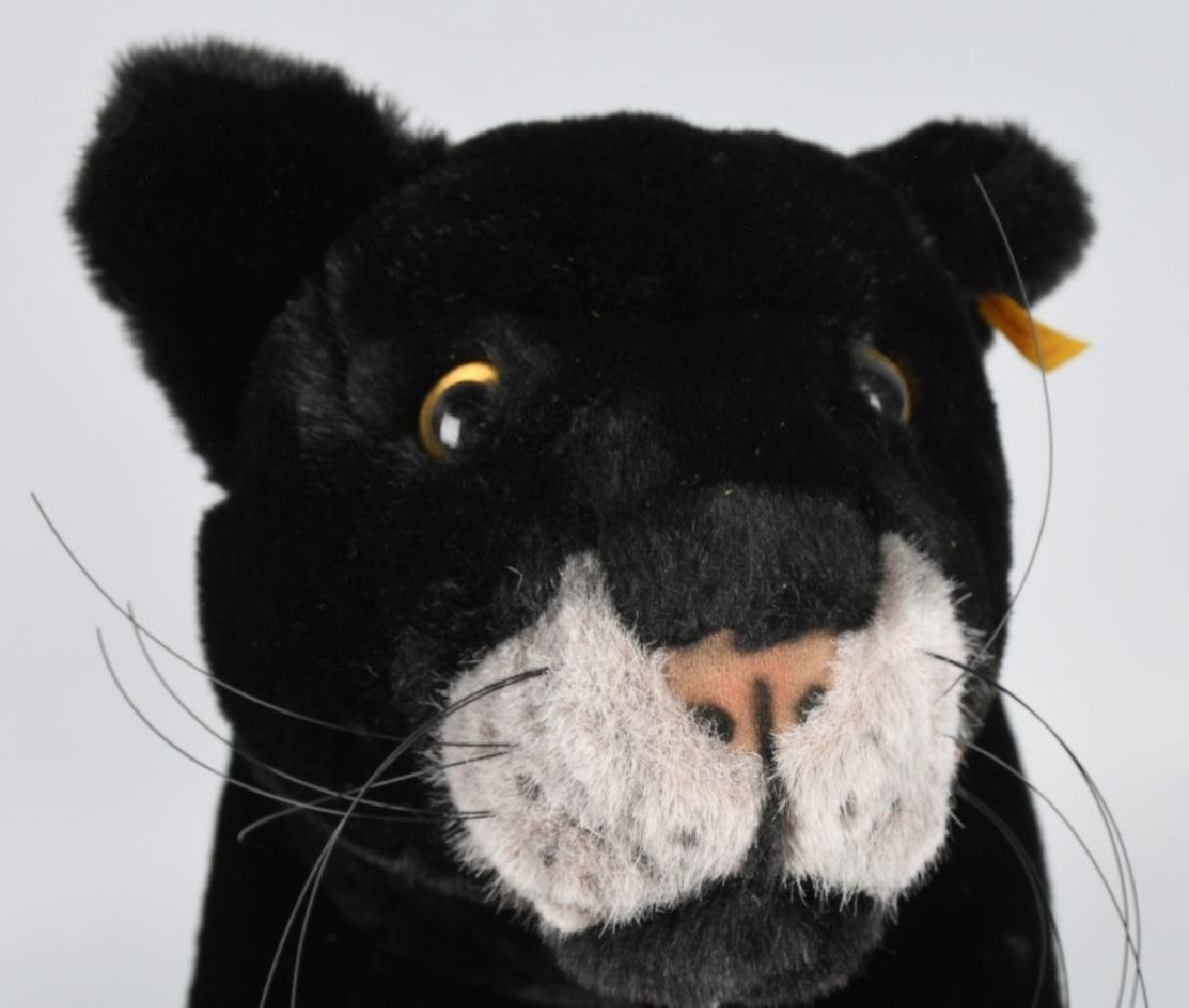 """25"""" STEIFF """"TAKY"""" STANDING PANTHER - 4"""