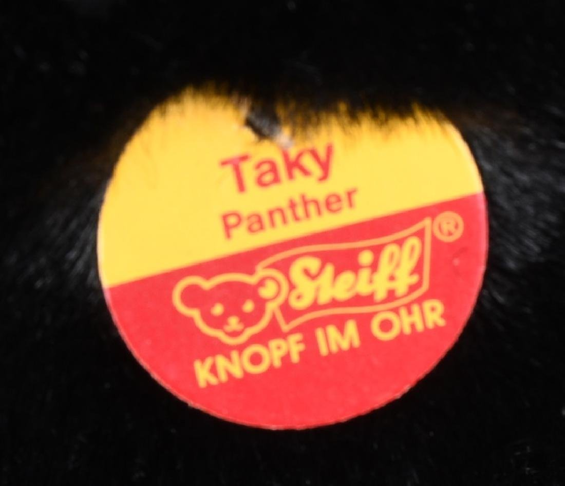 """25"""" STEIFF """"TAKY"""" STANDING PANTHER - 5"""
