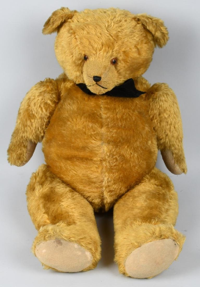 "36"" GOLDEN FULLY JOINTED TEDDY BEAR"