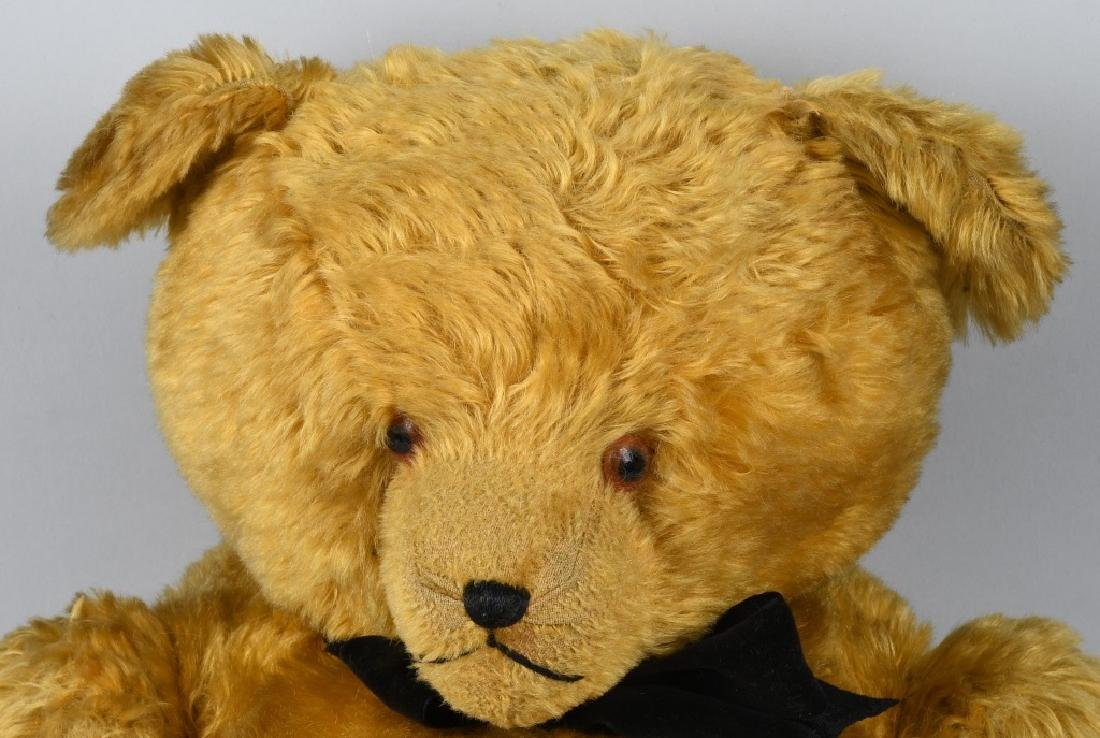 "36"" GOLDEN FULLY JOINTED TEDDY BEAR - 2"