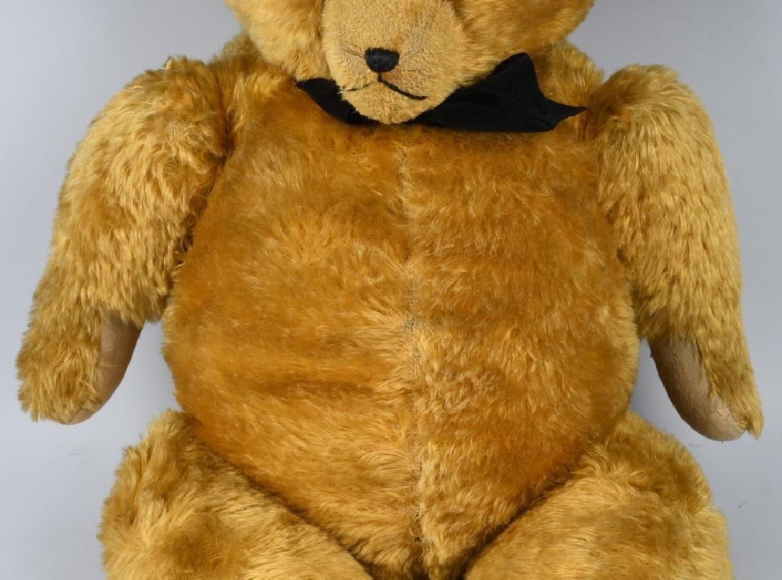 "36"" GOLDEN FULLY JOINTED TEDDY BEAR - 3"