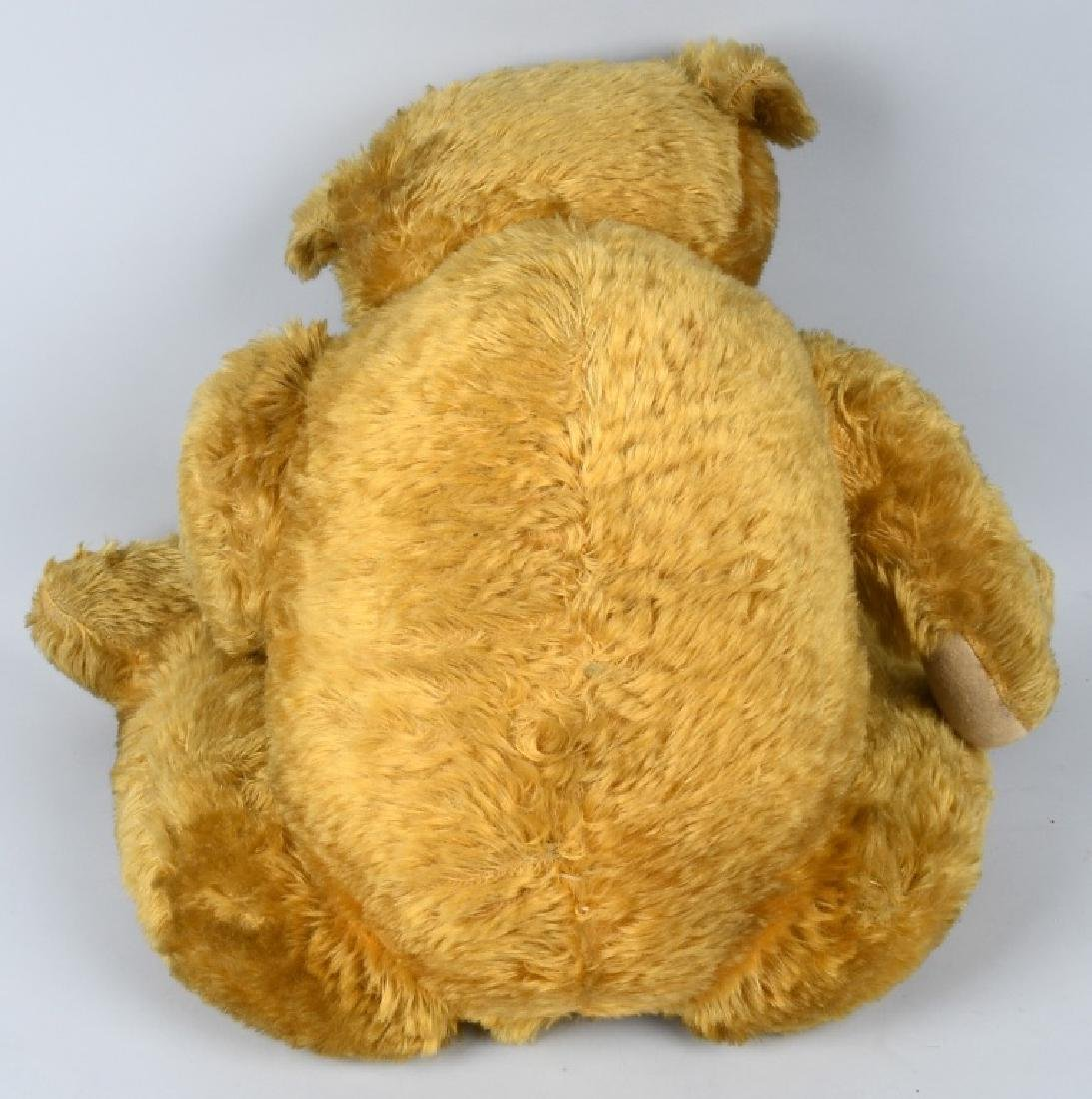 "36"" GOLDEN FULLY JOINTED TEDDY BEAR - 6"