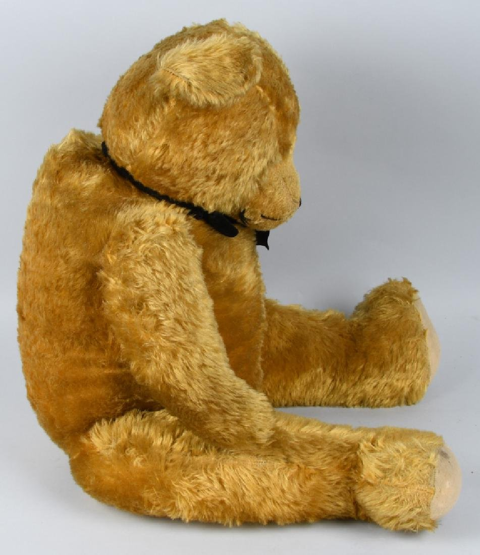 "36"" GOLDEN FULLY JOINTED TEDDY BEAR - 7"