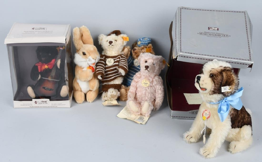 5- STEIFF BEARS & MORE