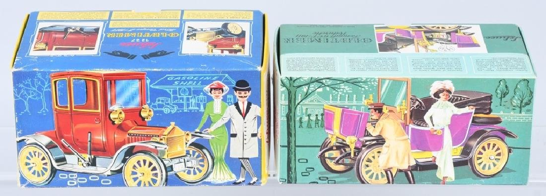 2- SCHUCO WINDUP OLD TIMER CARS w/ BOX