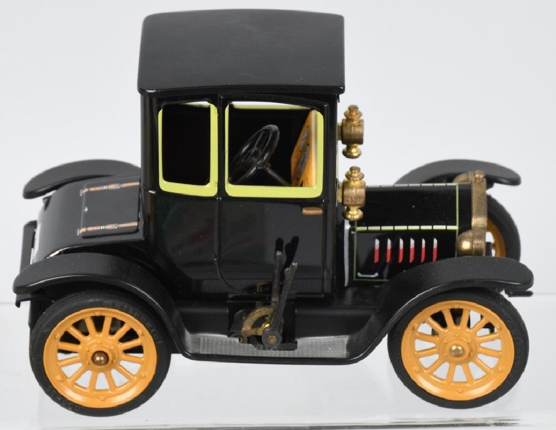 2- SCHUCO WINDUP OLD TIMER CARS w/ BOX - 4