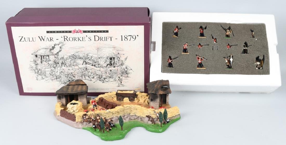BRITAINS 1879 ZULU WAR LIMITED EDITION SET MIB