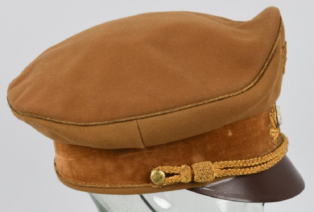 WWI NAZI BROWN VISOR HIGH LEADER CAP - 8