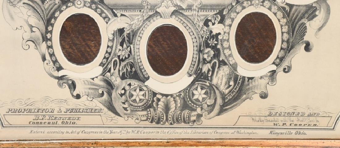 1872 CDV CITIZEN REGISTER PHOTO FRAME - 4