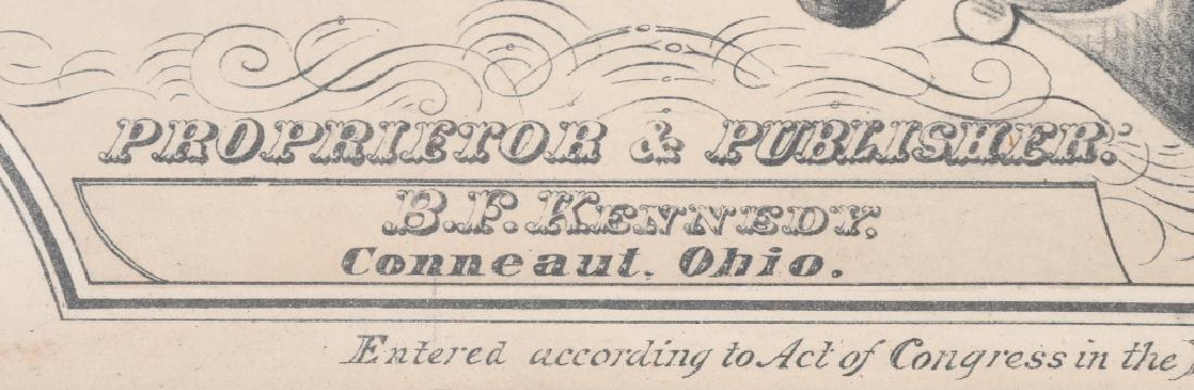 1872 CDV CITIZEN REGISTER PHOTO FRAME - 5