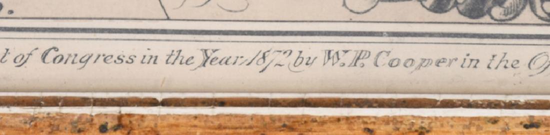 1872 CDV CITIZEN REGISTER PHOTO FRAME - 6