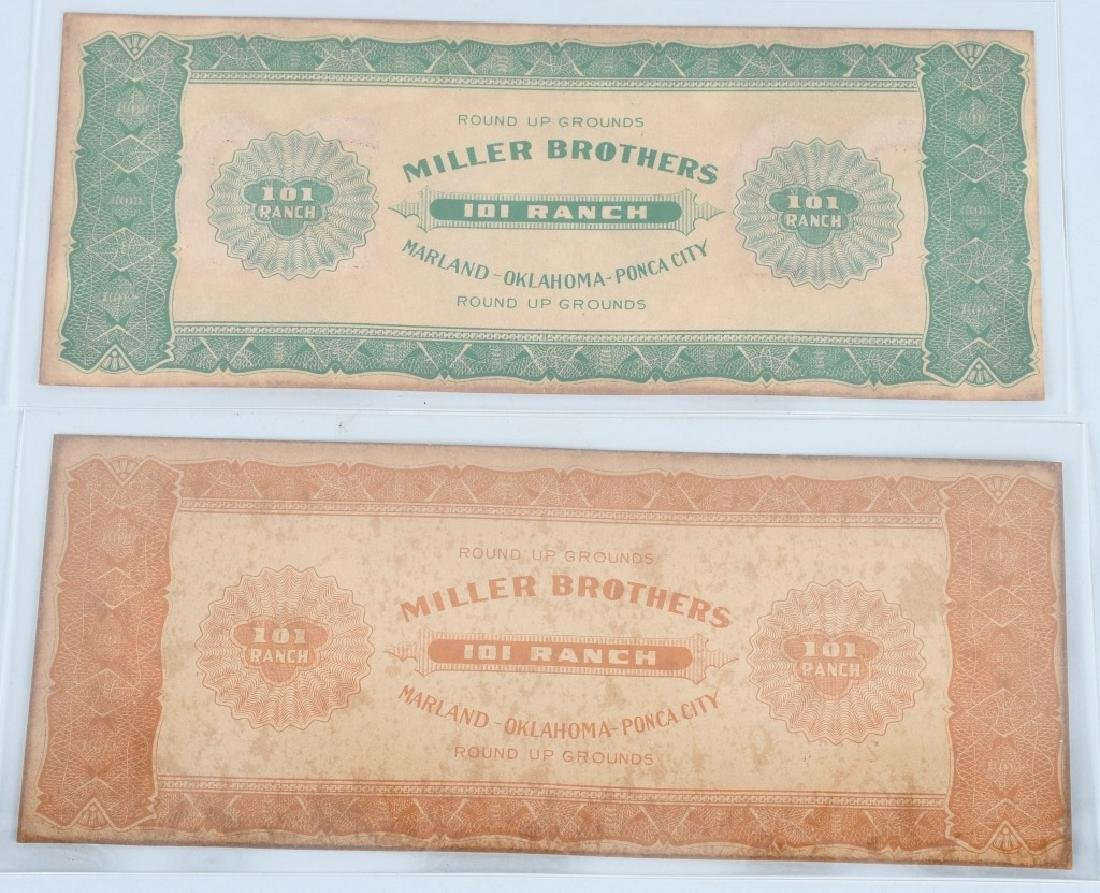 5- MILLER BROTHERS 101 RANCH MONEY - 3