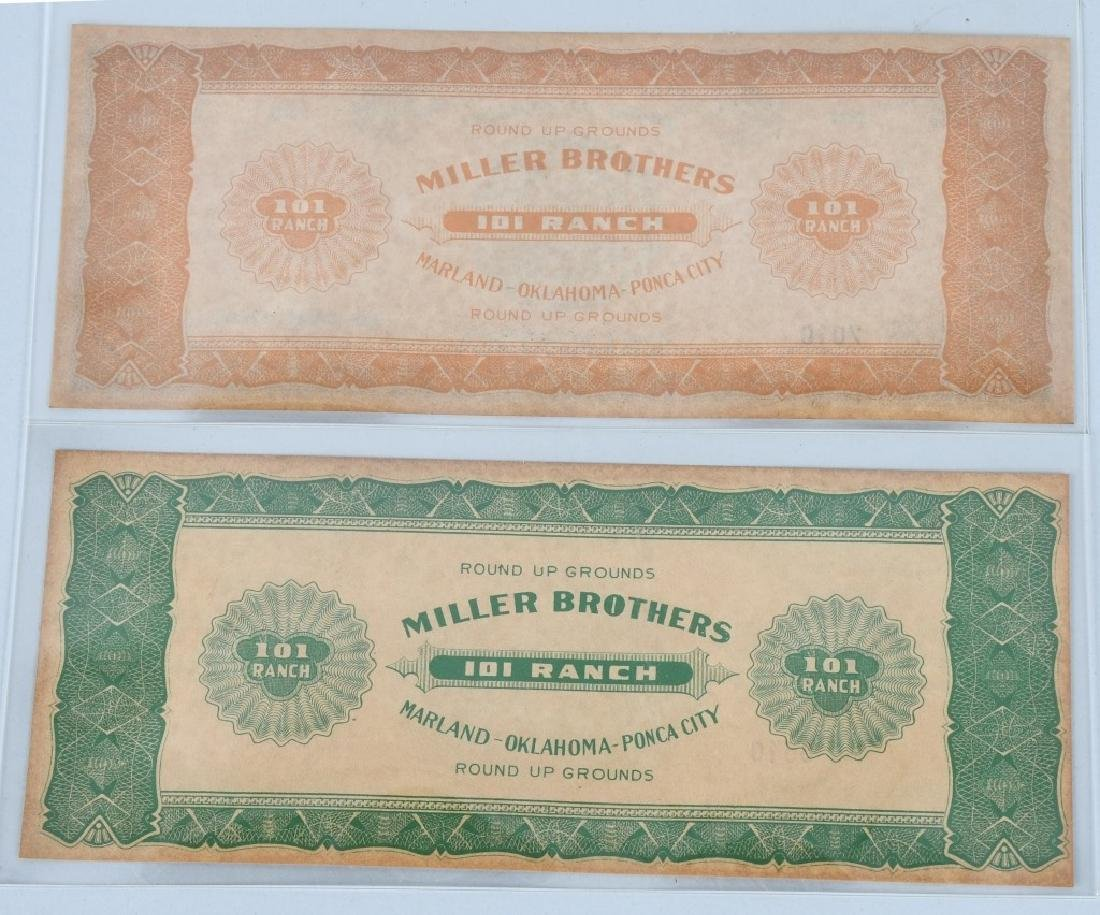5- MILLER BROTHERS 101 RANCH MONEY - 5