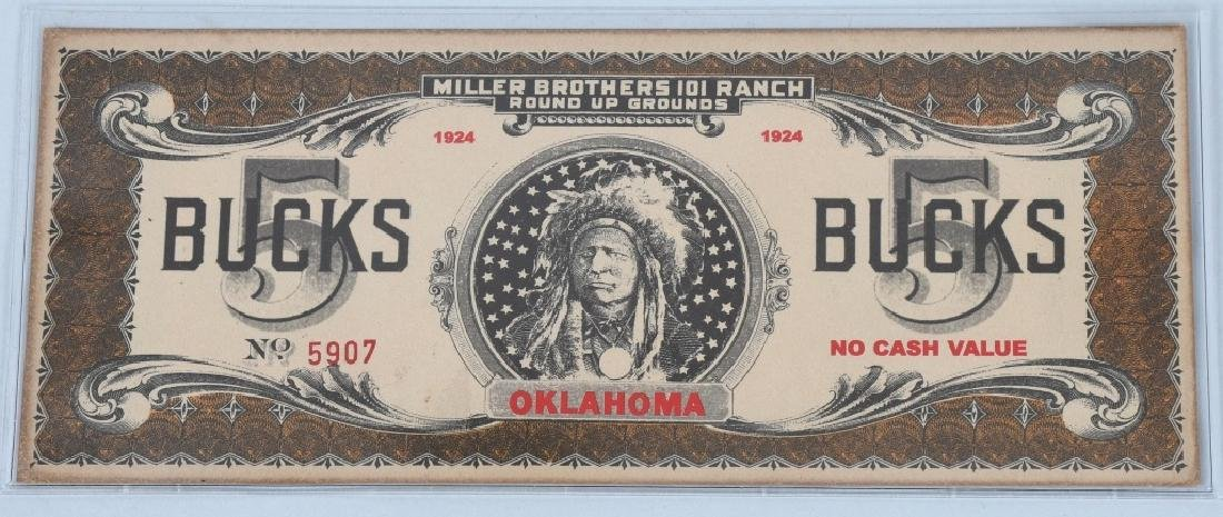 5- MILLER BROTHERS 101 RANCH MONEY - 6