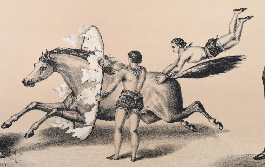 1879 FREDRICK BARCLAY WILD WEST SHOW POSTER - 3