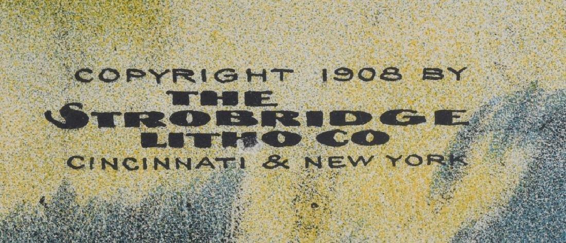 1908 BUFFALO BILL & PAWNEE BILL SHOW POSTER - 6