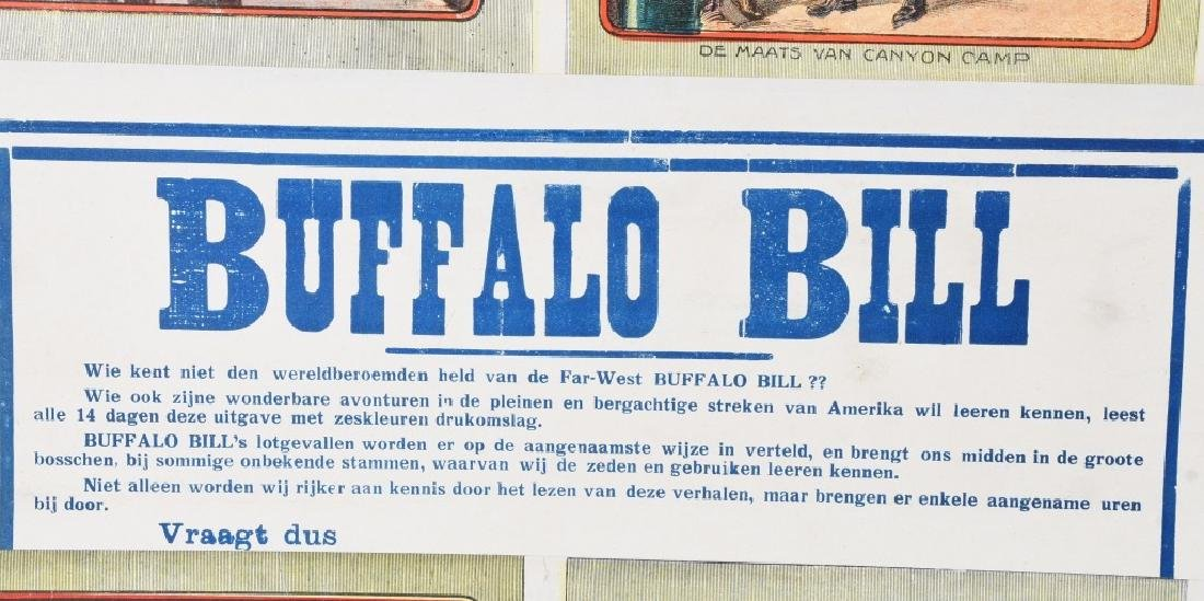 GERMAN BUFFALO BILL & NICK CARTER POSTER - 3