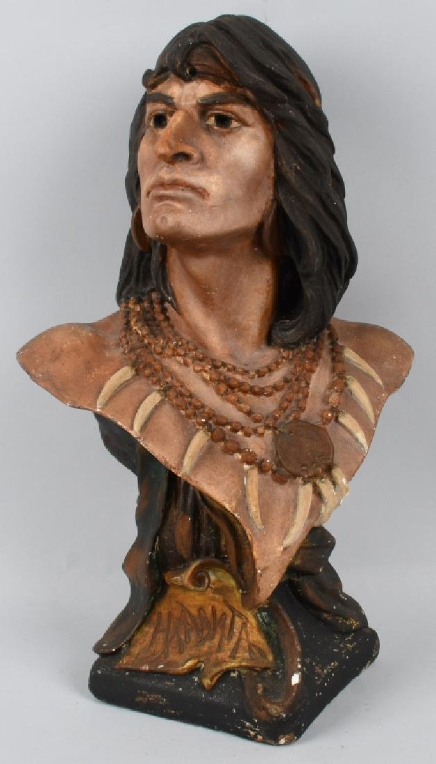 CIGAR STORE INDIAN BUST