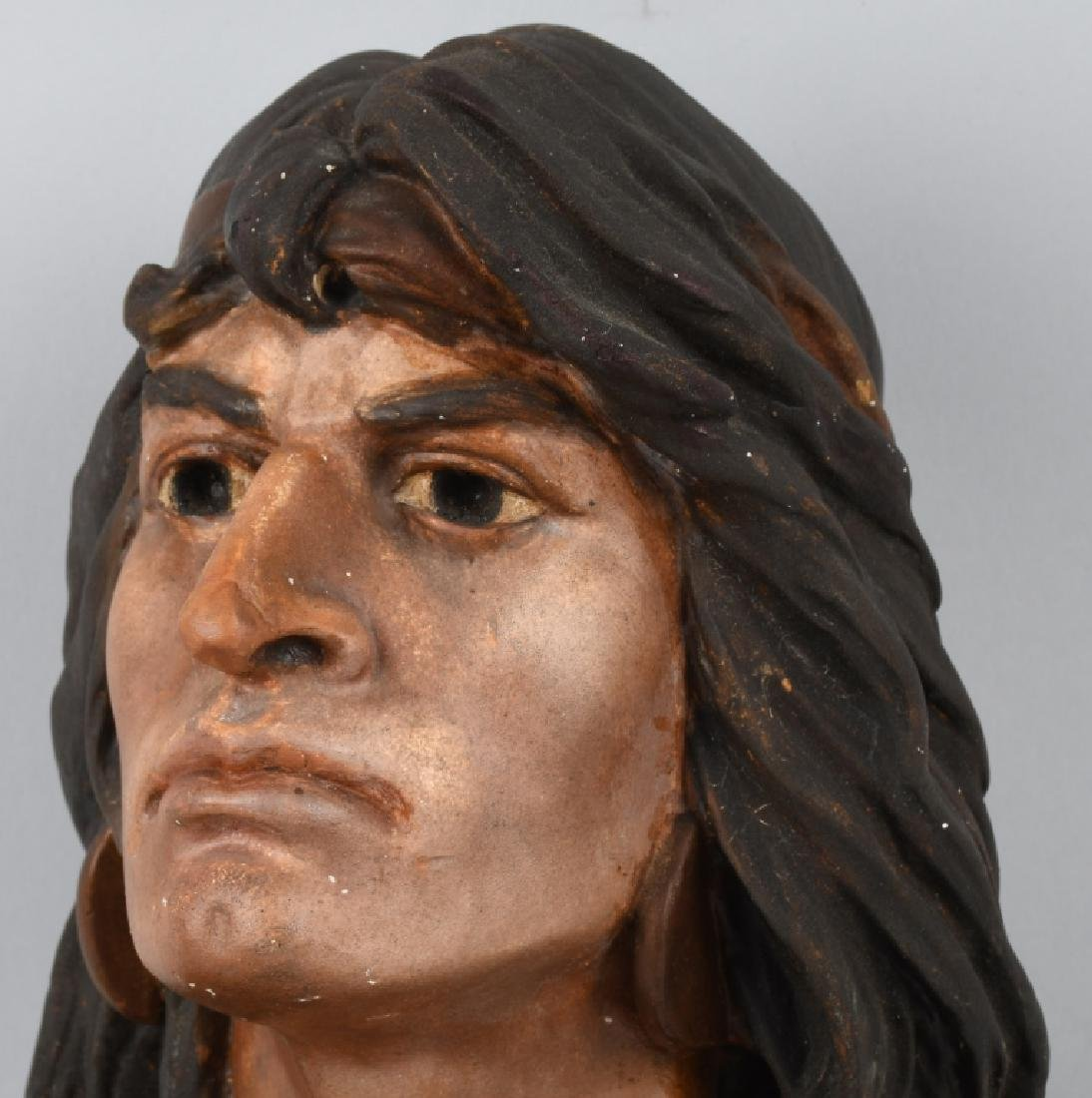 CIGAR STORE INDIAN BUST - 2