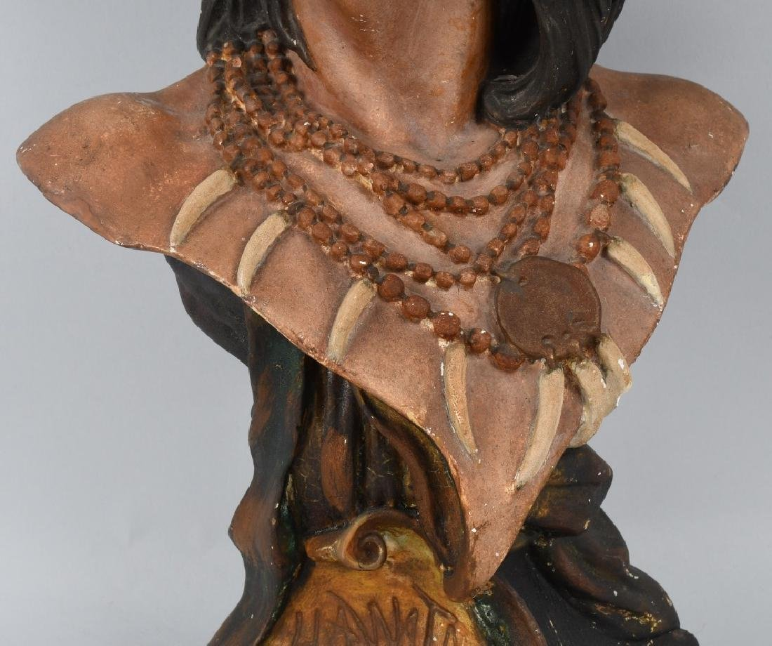CIGAR STORE INDIAN BUST - 3