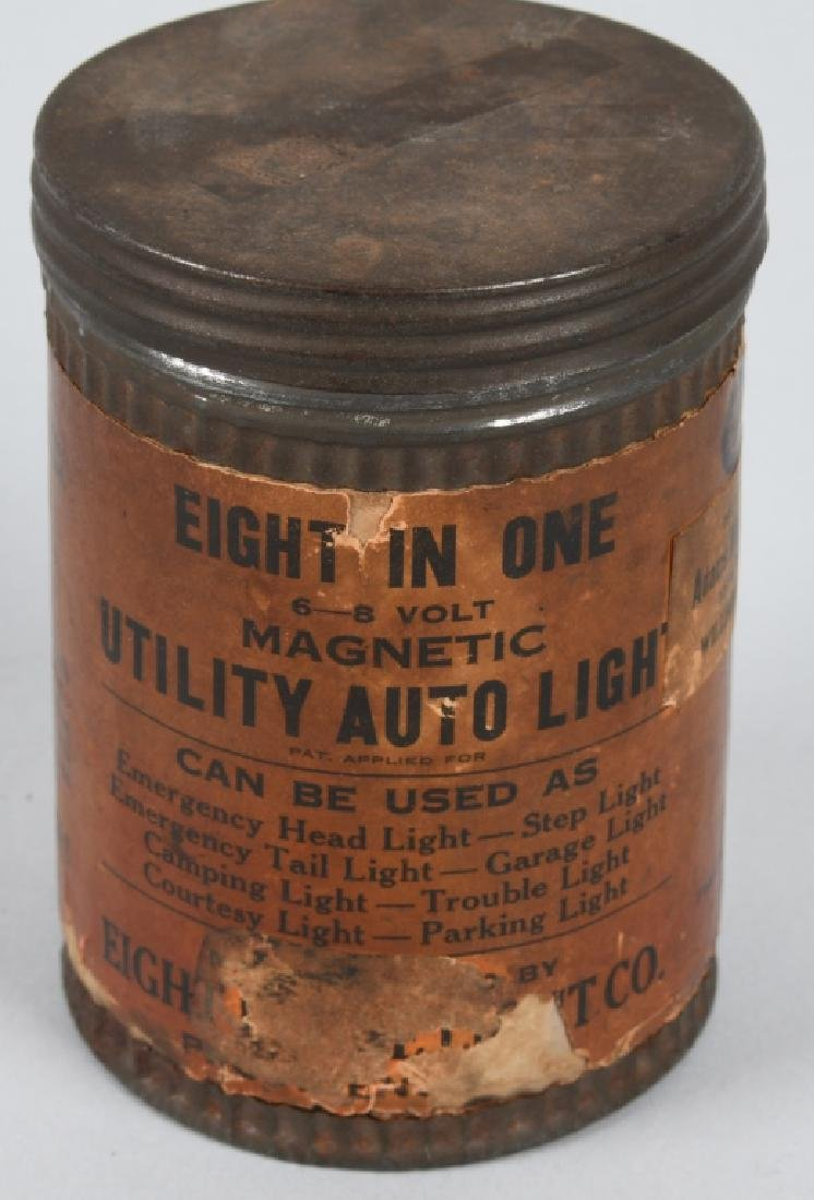 VINTAGE EIGHT IN ONE UTILITY AUTO LIGHT w/ CAN - 4